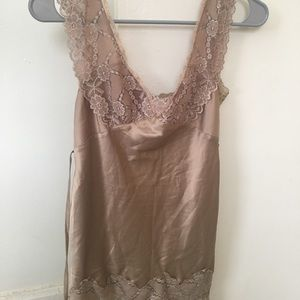 Forever 21 Lace and Satin Top